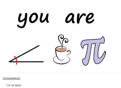 you are a cutie pie pun