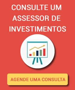 Agendar uma consultoria de investimentos