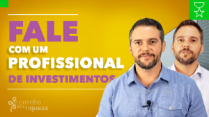 Fale com um profissional de investimentos