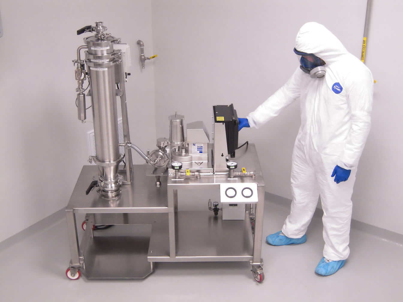 Pharmaceutical Jet Milling Technology Amp Capabilities