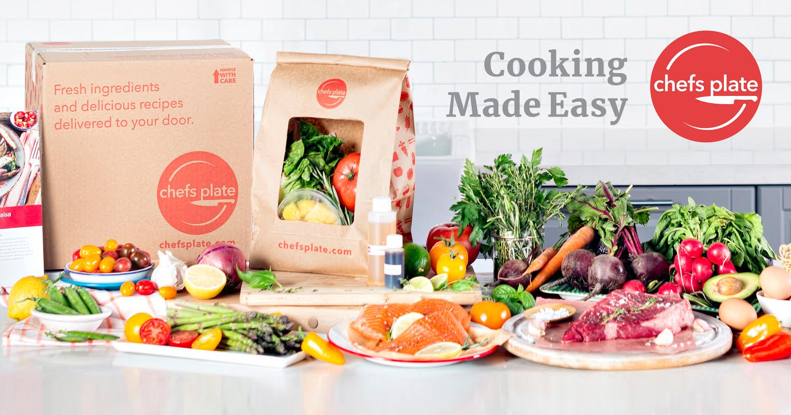 Fresh groceries meal kit delivered weekly to your door chefs plate forumfinder Choice Image