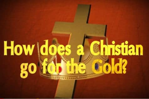 Are Christians Competing for Gold?