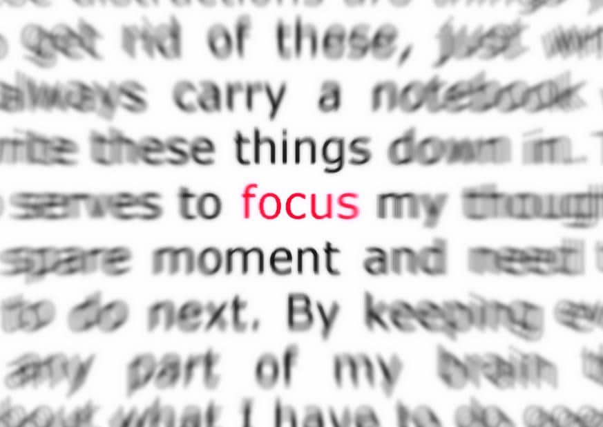 Has Your Focus Changed Enough?