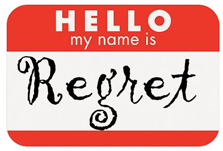 Will My Regrets Ever Leave Me Alone? (Part I)
