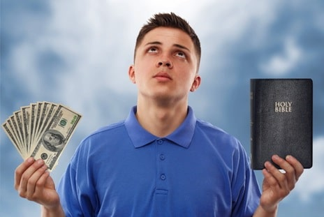 Is Christianity a Greedy Religion?