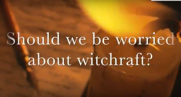VIDEO:  Moments that Matter – Should We Be Worried About Witchcraft?