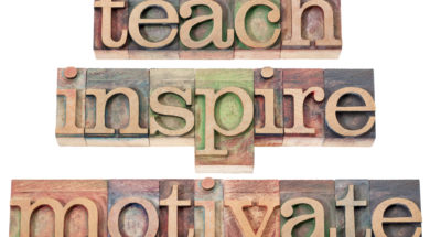 teach inspire motivate provoke