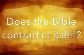 Does the Bible contradict itself