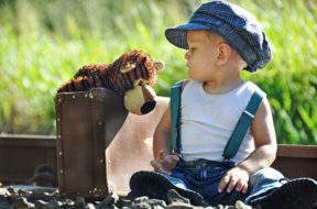 boy and stuffed animal - loyalty