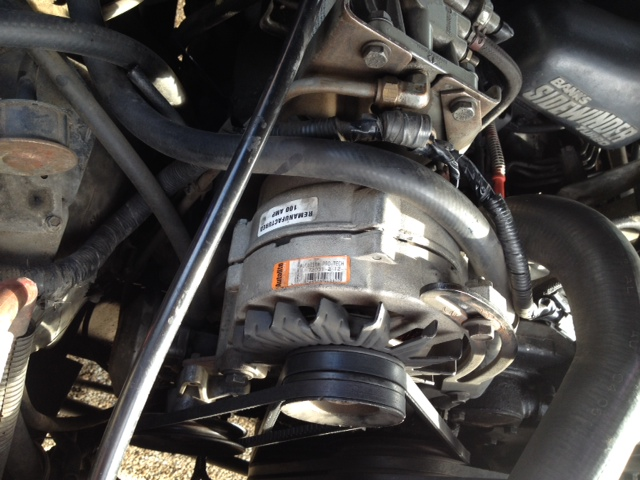 U0026 39 91 F250 7 3l Idi Alternator Wiring Problems - 2g