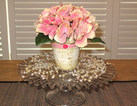Centerpiece Ideas Using Your Cake Plate