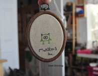 Pixar-Inspired Cross-Stitch Collection