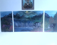 Acrylic Landscape Paintings