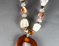 Gemstone Necklaces: Designs by Nanci