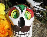 El Dia de Los Muertos Skulls
