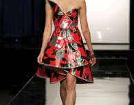 Duct Tape Prom Dress Ideas from 'Project Runway'