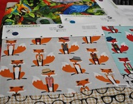 Fox Fabric and Projects at Quilt Market