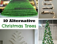 10 Alternative Christmas Trees