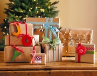 Holiday Gift Wrapping Ideas: Brown Paper Packages