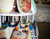 Handmade Stuffed Owls