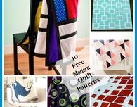 10 Free Modern Quilt Patterns