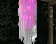 Light-Up Boho Chandelier