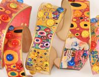 Gustav Klimt Jewelry DIY