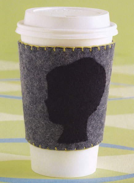 free pattern, coffee cup sleeve