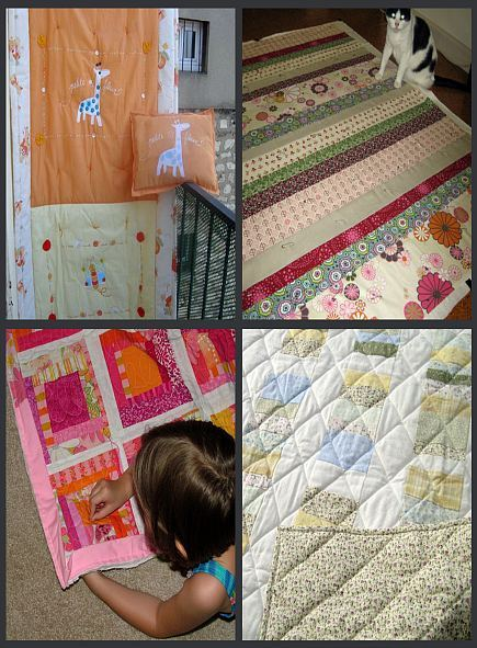 unique kid and baby quilts