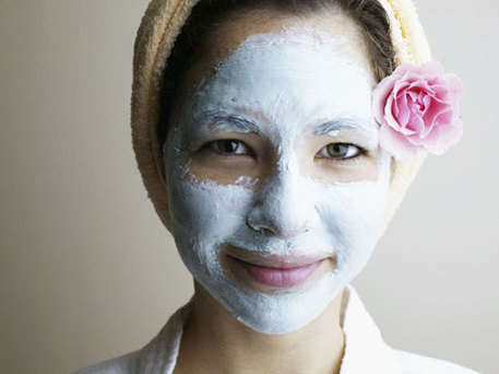DIY Clay Mask Facial Spa Treatment