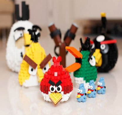lego angry bird video game craft
