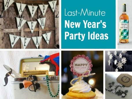 Diy New Years Party 7 Last Minute Ideas Craftfoxes