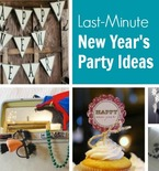 DIY New Year's Party — 7 Last-Minute Ideas
