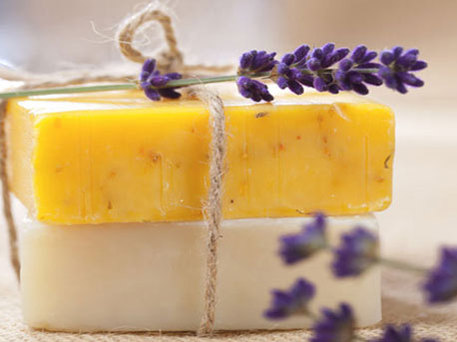 Soap recipe for lavender bars