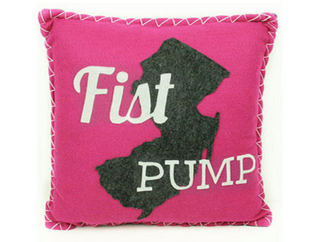 Jersey Shore Felt Pillow