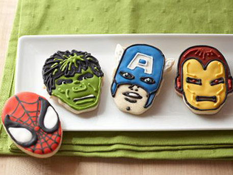 Marvel superhero bakeset from Williams-Sonoma