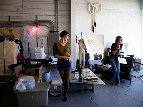 craft bits news story on portland fashion scene