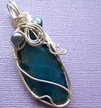 How To Wire Wrap a Necklace Pendant