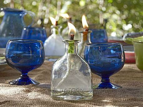 upcycle oil lantern
