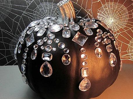 no carve painted pumpkin