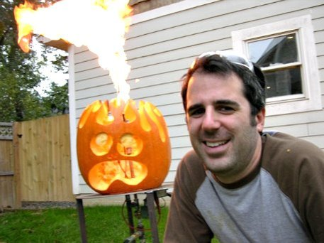 pumpkin carving tips from Tom Nardone