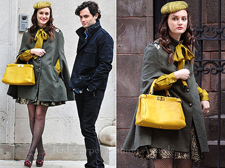 Leighton Meester Gossip Girl outfit