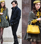 Love Leighton Meester's Gossip Girl Cape? We've Got Vintage-y Suggestions