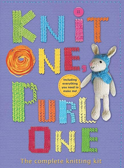 Knit One Purl One Knitting Kit