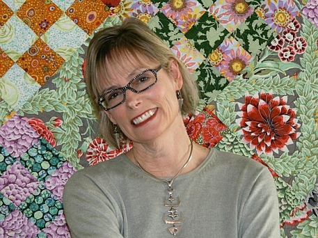 quilting expert and author Meg Cox