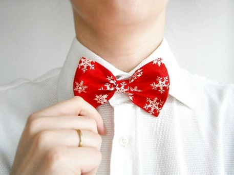 cheap christmas bow tie gift
