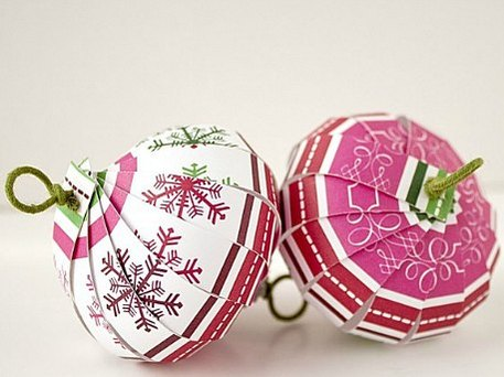 Christmas ornaments you can make yourself craftfoxes paper ornament ball solutioingenieria Choice Image