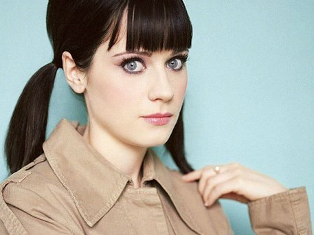 zooey deschanel's vintage style was a top trend in 2011