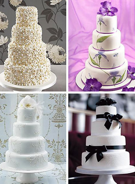 How to Make a Beautiful DIY Wedding Cake by Mich Turner Craftfoxes