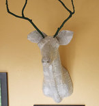 Mounting a Faux Deer Head, Moose Head and More